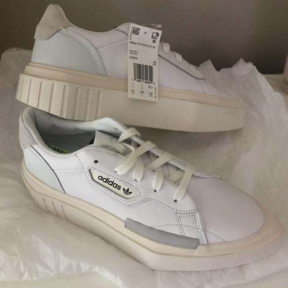Adidas Originals Hypersleek (White) US 8 12 NWT